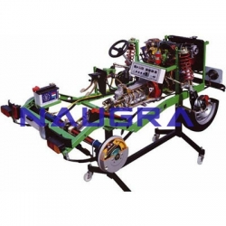 Chassis Petrol Engines Cutaway